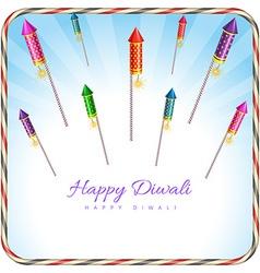 Diwali design vector