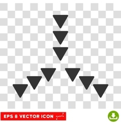 Inside direction round eps icon vector