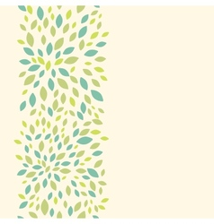 Leaf texture vertical seamless pattern background vector image vector image