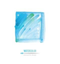watercolor element vector image