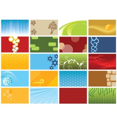 Background collection vector