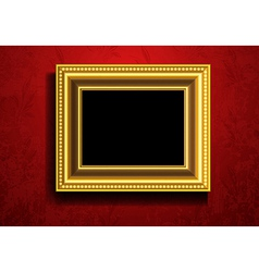 Picture frame wallpaper background vector
