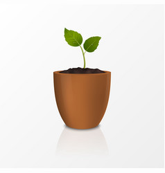 growth concept design template of vector image
