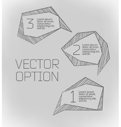Design elements for options vector
