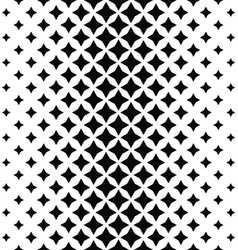 Black white abstract polygon pattern background vector