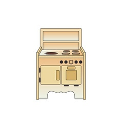 Cooker-380x400 vector image vector image