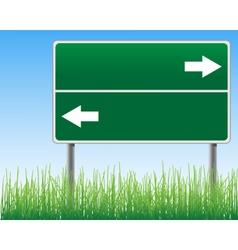 Empty signpost vector