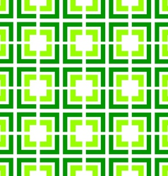 green tile seamless pattern vector image vector image