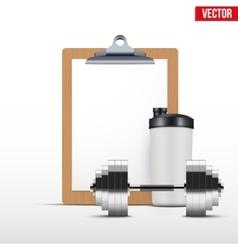 Coaching blank clipboard vector