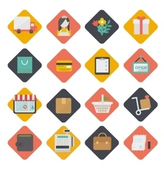 Big set of shopping icons vector