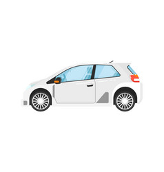 Modern universal car isolated vector