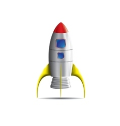 Space rocket vector