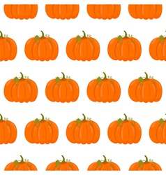 Seamless pattern with pumpkins vector