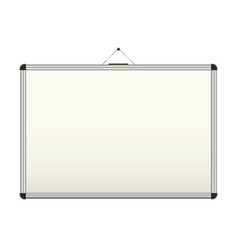 blank whiteboard vector image