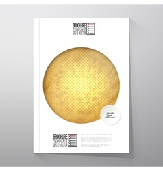 Abstract wooden background brochure flyer or vector