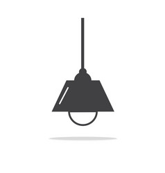 lamps modern icons vector image vector image