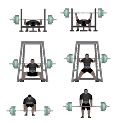 Powerlifting vector