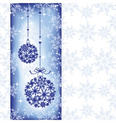 sparkling christmas wallpaper vector image vector image