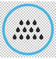Drops icon vector