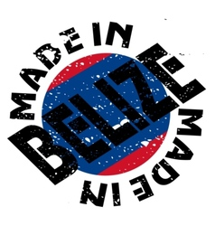 Made in belize vector