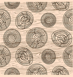 seamless wood grain pattern wooden texture vector image