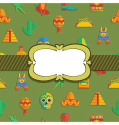 Mexican ornament vector