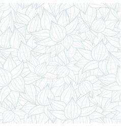 light grey succulent plant texture drawing vector image