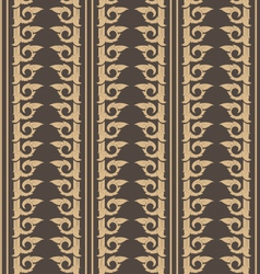 Wallpaper thai pattern vector