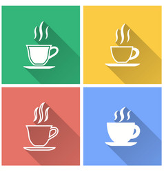 Coffee cup - icon vector