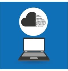 Computer analysis data cloud binary vector