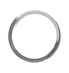 Grunge tire element vector
