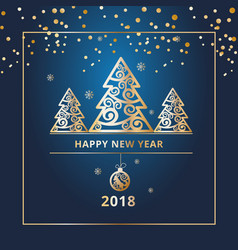 New year banners flyers for web sites vector
