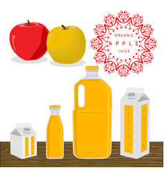 the theme apple vector image vector image
