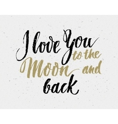 Hand drawn love quote vector