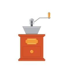 Coffee-mill simplified vector