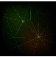 Modern neon lines background vector