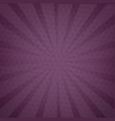 Purple background texture with sunburst vector