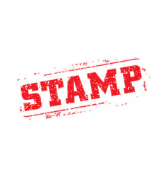 Rubber stamp template vector
