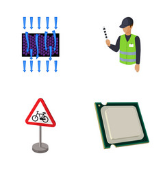 transport chemistry and other web icon in cartoon vector image vector image