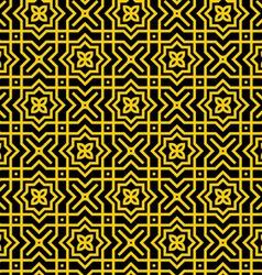 Gold Persian Pattern vector image