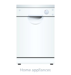 Dishwasher machine vector