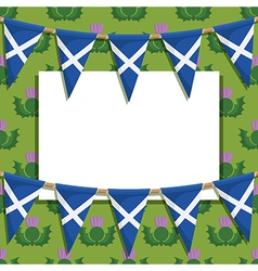 Scotland decoration vector