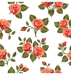 Seamless Floral pattern 5 vector image