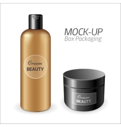 Make-up packaging product vector