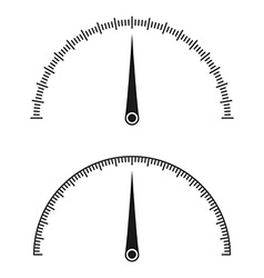 Icon of speedometer vector image vector image