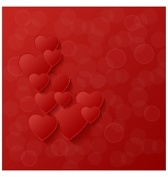 Abstract modern style love background vector image
