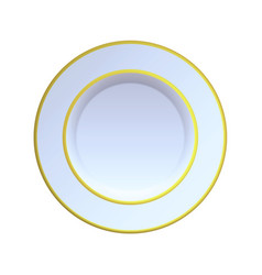China plate vector
