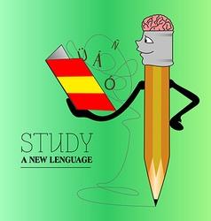 Learn language vector