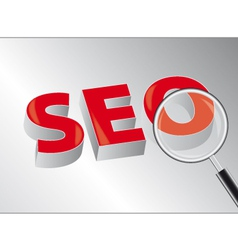 seo vector image vector image