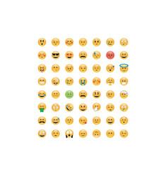 Set of emoticon vector